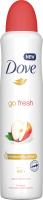 Dove - Go Fresh - 48h Anti-Perspirant - Antyperspirant w aerozolu - Jabłko i Biała Herbata - 250 ml