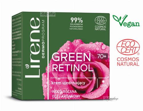 Lirene - GREEN RETINOL 70+ Ujędrniający krem do twarzy na dzień - 50 ml