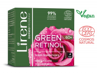 Lirene - GREEN RETINOL 60+ Regenerating night face cream - 50 ml