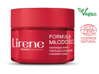 Lirene - Formula of Youth - Moisturizing cream reducing wrinkles with a poppy flower - Normal and combination skin - 50 ml