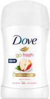 Dove - Go Fresh - 48h Anti-Perspirant - Antyperspirant w sztyfcie - Jabłko i Biała Herbata - 40 ml