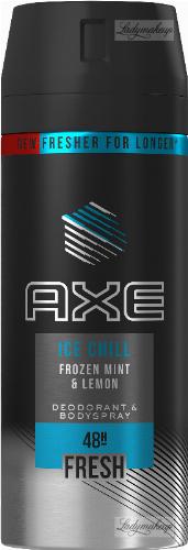 AXE - ICE CHILL - DEODORANT & BODYSPRAY - Aerosol deodorant for men - Frozen Mint and Lemon - 150 ml