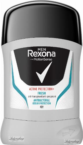 Rexona - Men - Active Protection+ Fresh Anti-Perspirant 48H - Antyperspirant w sztyfcie dla mężczyzn - 50 ml