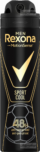 Rexona - Men - Sport Cool Anti-Perspirant 48H - Antyperspirant w aerozolu dla mężczyzn - 150 ml