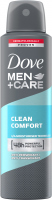 Dove - Men + Care Clean Comfort 48H Anti-Perspirant - Spray antiperspirant for men - 150 ml