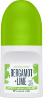 Schmidt's - Bergamot + Lime Natural Deodorant - Natural roll-on deodorant - Bergamot & Lime - 50 ml