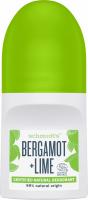 Schmidt's - Bergamot + Lime Natural Deodorant - Natural roll-on deodorant - Bergamot & Lime - 50 ml