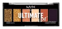 NYX Professional Makeup - ULTIMATE EDIT - PETITE PALETTE - Paleta 6 cieni do powiek - 06 ULTIMATE UTOPIA