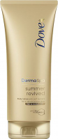 Dove - Derma Spa Summer Revived Body Lotion - Body lotion with self-tanner for fair and medium complexion - 200 ml