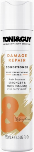 TONI & GUY - Damage Repair Conditioner - Regenerating conditioner for damaged hair - 250 ml