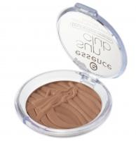 Essence - Sun club - Shimmer bronzing powder - Rozświetlający puder brązujący