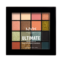 NYX Professional Makeup - ULTIMATE SHADOW PALETTE - Paleta 16 cieni do powiek - 12 ULTIMATE UTOPIA