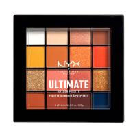 NYX Professional Makeup - ULTIMATE SHADOW PALETTE - Paleta 16 cieni do powiek - 11 ESCAPE ARTIST