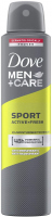 Dove - Men + Care - Sport Active + Fresh - 48H Anti-Perspirant - Spray antiperspirant for men - 250 ml