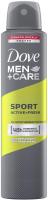 Dove - Men + Care - Sport Active + Fresh - 48H Anti-Perspirant - Spray antiperspirant for men - 250 ml