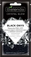 Bielenda - Crystal Glow - Black Onyx Face Mask PEEL-OFF - Maseczka PEEL-OFF oczyszczająco-detoksykująca z efektem shimmer do twarzy - 8 g