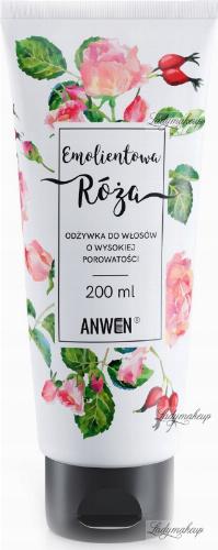 ANWEN - Emollient Rose - Conditioner for high porosity hair - 200 ml