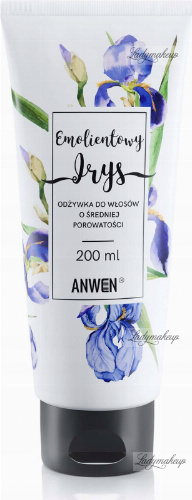 ANWEN - Emollient Iris - Conditioner for medium porosity hair - 200 ml
