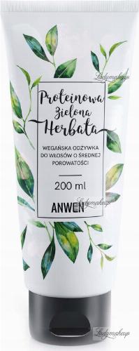 ANWEN - Protein Green Tea - Vegan hair conditioner with medium porosity - 200 ml