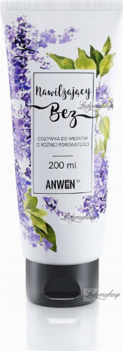 ANWEN - Moisturizing Lilac - Conditioner for hair of different porosity - 200 ml