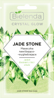 Bielenda - Crystal Glow - Jade Stone Face Mask - Moisturizing and smoothing face mask - 8 g