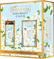 Bielenda - JAPAN BEAUTY - Gift set of body care cosmetics - Japanese body oil 150 ml + Japanese body cream 200 ml