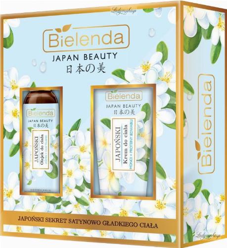 Bielenda - JAPAN BEAUTY - Zestaw prezentowy kosmetyków do pielęgnacji ciała - Japoński olejek do ciała 150 ml + Japoński krem do ciała 200 ml