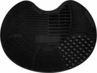 Sigma® - SPA® EXPRESS BRUSH CLEANING MAT - Mata do czyszczenia pędzli - MAŁA - BLACK