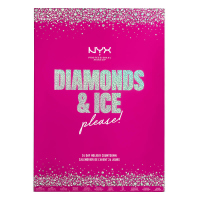 NYX Professional Makeup - DIAMONDS & ICE PLEASE! - 24 DAY HOLIDAY COUNTDOWN - Advent calendar for face makeup