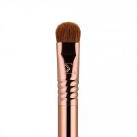 Sigma® - ESSENTIAL TRIO BRUSH SET - Zestaw 3 pędzli do makijażu + mini tuba - Rose Gold