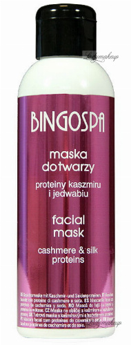 BINGOSPA - Face mask with cashmere and silk proteins - 150g