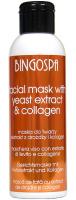 BINGOSPA - Maska do twarzy z ekstraktem z drożdży piwnych i kolagenem - 150g
