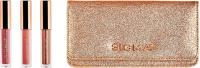 Sigma® - BELOVED MINI LIP SET - 3 LIP GLOSSES + BEAUTY BAG - Zestaw 3 mini błyszczyków + kosmetyczka