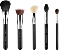 Sigma® - CLASSIC FACE BRUSH SET - 5 TOP-RATED BRUSHES - Set of 5 make-up brushes
