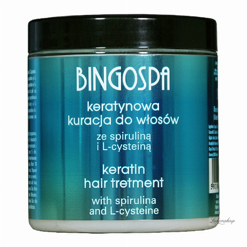 BINGOSPA - Keratin Hair Treatment - 250g