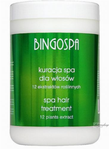 BINGOSPA - Kuracja SPA dla włosów słabych i wypadających - 1000g