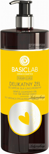 BASICLAB - FAMILLIAS - Gentle cleansing gel for the whole family - 500 ml