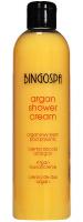 BINGOSPA - Arganowy krem pod prysznic z brzoskwinią - 300 ml
