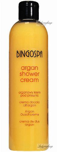 BINGOSPA - Argan shower cream with peach - 300 ml