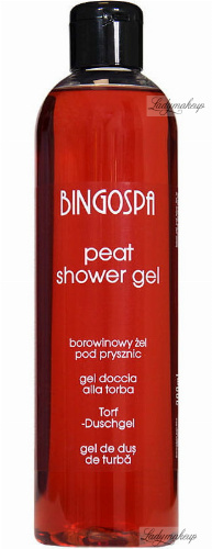 BINGOSPA - Peat Shower Gel - 300ml