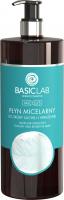 BASICLAB - MICELLIS - MICELLAR SOLUTION FOR DRY AND SENSITIVE SKIN - Płyn micelarny do skóry suchej i wrażliwej - 500 ml