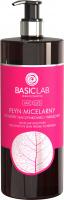 BASICLAB - MICELLIS - MICELLAR SOLUTION FOR SENSITIVE SKIN PRONE TO REDNESS - Płyn micelarny do skóry naczynkowej i wrażliwej - 500 ml