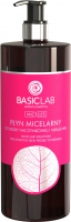 BASICLAB - MICELLIS - Płyn micelarny do skóry naczynkowej i wrażliwej - 500 ml