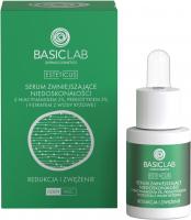 BASICLAB - ESTETICUS - Serum zmniejszające niedoskonałości z niacynamidem 5%, prebiotykiem 5% i filtratem z wody ryżowej - Redukcja i zwężenie - Dzień/Noc - 15 ml