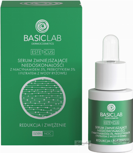 BASICLAB - ESTETICUS - ANTI-IMPERFECTIONS SERUM - Anti-blemish serum - Day / Night - 15 ml