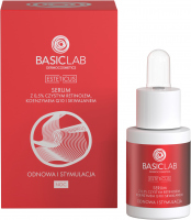 BASICLAB - ESTETICUS - Serum with 0.5% pure retinol, coenzyme Q10 and squalene - Renewal and stimulation - Night - 15 ml