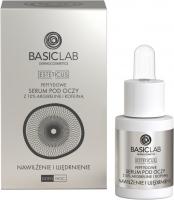 BASICLAB - ESTETICUS - PEPTIDE EYE SERUM - Peptydowe serum pod oczy - Nawilżenie i ujędrnienie - Dzień/Noc - 15 ml