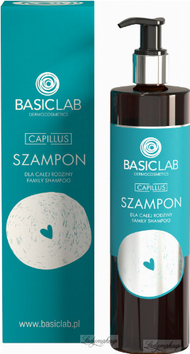 BASICLAB - CAPILLUS - Szampon do włosów dla całej rodziny - 300 ml