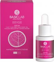 BASICLAB - ESTETICUS - Serum z wit. C ascorbyl glucoside 10%, kwasem ferulowym i ginkgo biloba - Napięcie i wzmocnienie - Dzień/Noc - 15 ml