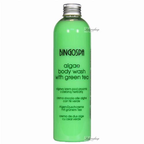 BINGOSPA - Algae Body Wash With Green Tea - Algowy krem pod prysznic z zieloną herbatą - 300ml